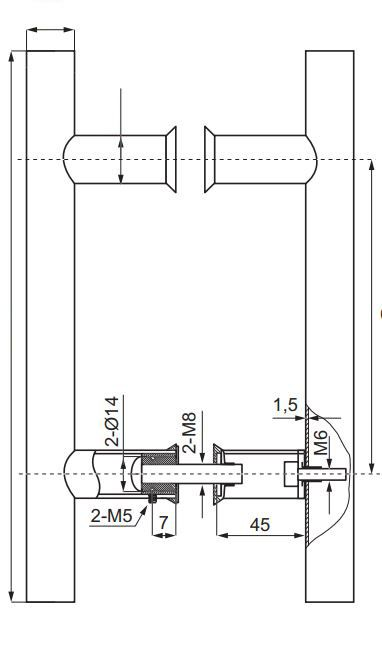 HDL633/ Ручка офисная/600-425-32/глянец