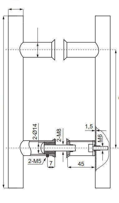 HDL633/Ручка офисная/1500-1020-38/глянец