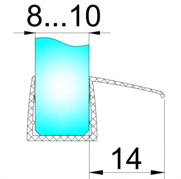 PS27L/8мм-2,5м