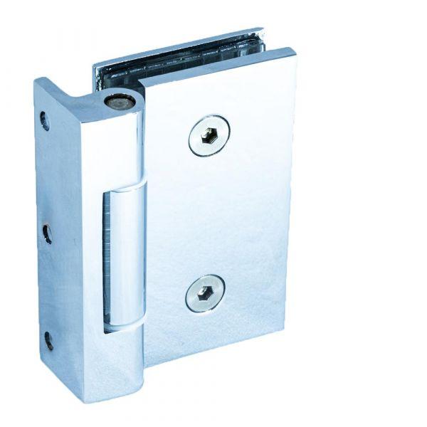 SHS31/Петля стена-стекло без фиксации/глянец