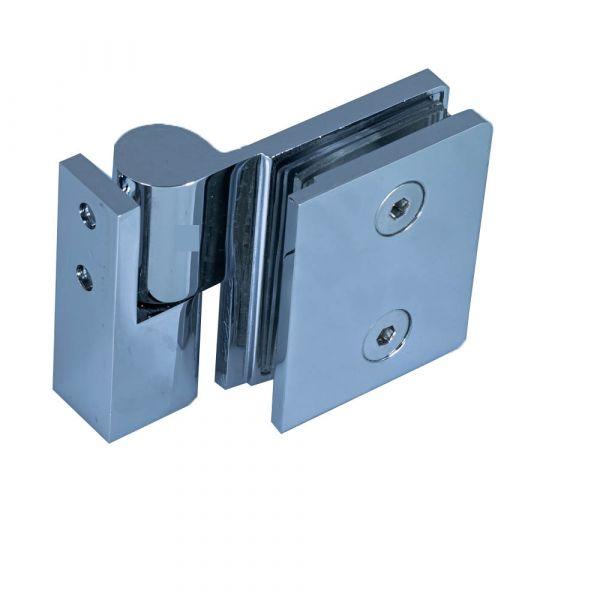 SH50-R/Петля стена стекло c функцией подъёма, без фиксации/правая/глянец