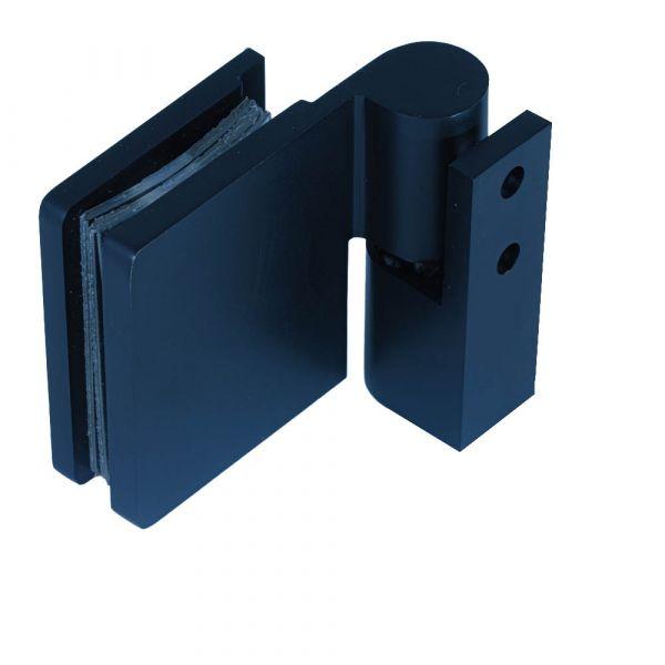 SH50-R/BLACK/Петля стена стекло c функцией подъёма/правая