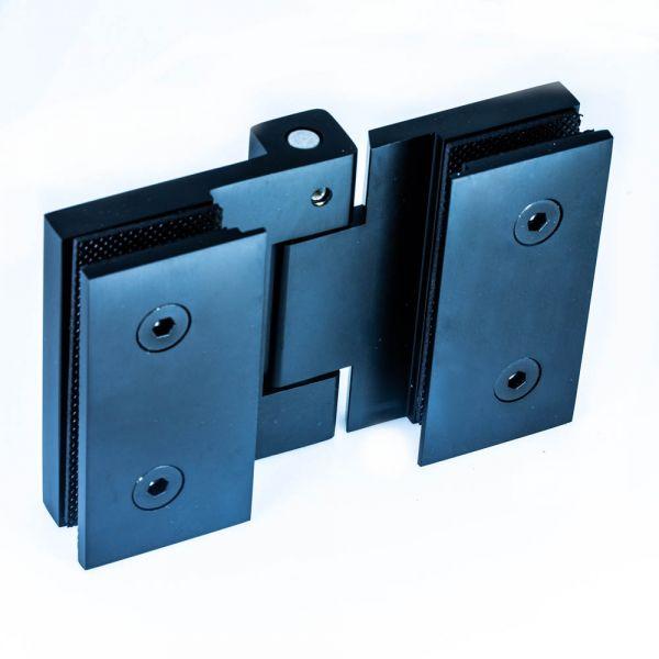 RSH302/BLACK/Петля стекло-стекло  без фиксации