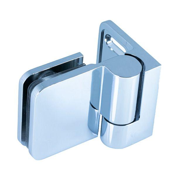 SHLM-L/Петля стекло-стекло c функцией подъёма, без фиксации/левая/глянец