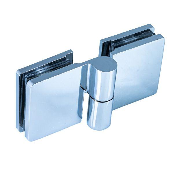 SH51-R/Петля стекло-стекло c функцией подъёма, без фиксации/правая/глянец