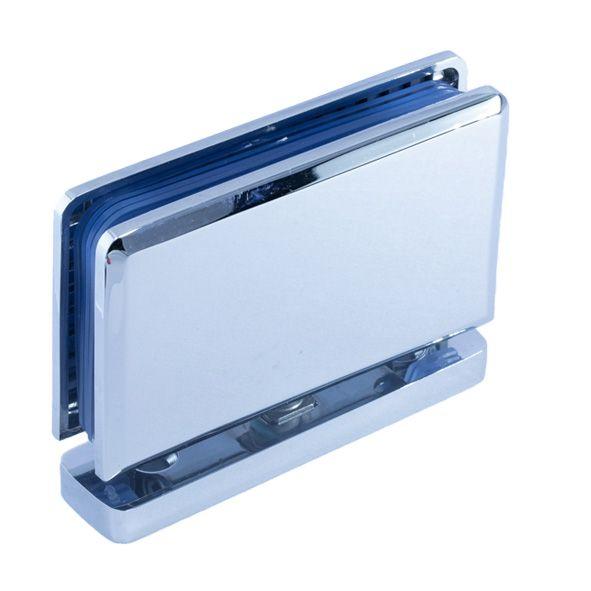 HDL307/глянец/Петля пол/потолок c фиксацией