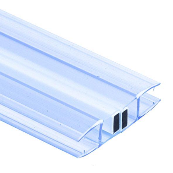 PS40M/10мм/2.5-магнит белый /прозрачный силикон