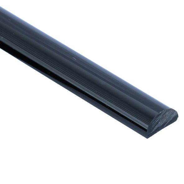 PS46-8/Black. Порожек акриловый.