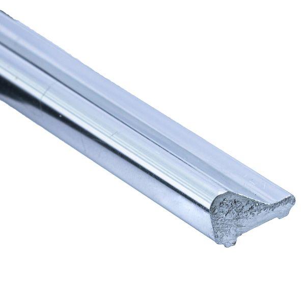 FA12-1.1 метра/Глянец. Порожек алюминиевый для FA-90/180/135.