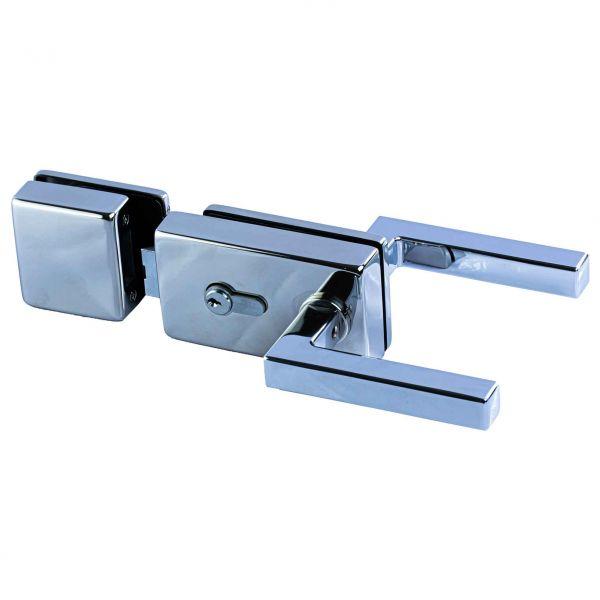 LK500S-SB-DNW/Ответная часть на стекло/глянец.