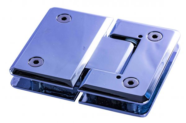 HDL303C-H1103K/Петля стекло-стекло 180 градусов c регулируемым углом фиксации/глянец