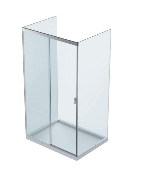 D15E60/PIUMA/Комплект для раздвижной душ. кабины/между с стёклами