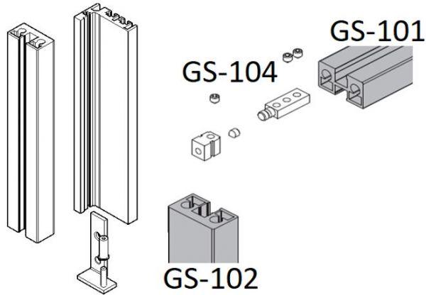 GS101/Профиль горизонтальный