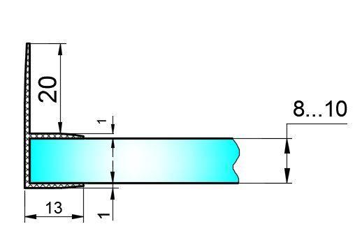 PS13C-U/8мм-2,5/ультра прозрачный