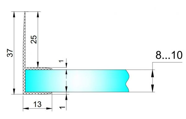 PS13D/8мм-2,5 м