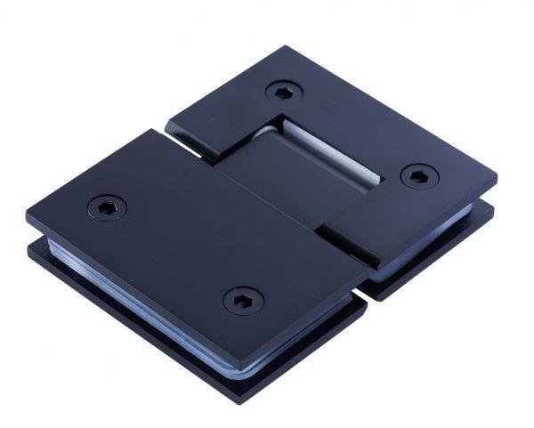 SH180B/BLACK. Петля стена-стекло 180 градусов с фиксацией