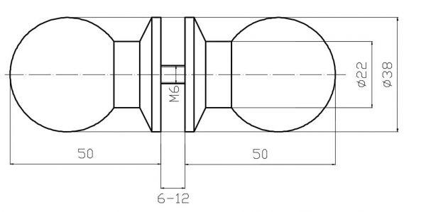 TDL80/глянец/Кноб