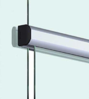 TLG2122/Комплект для раздвижной двери/две створки на стекло